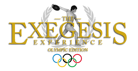 The Exegesis Experience Olympic Edition